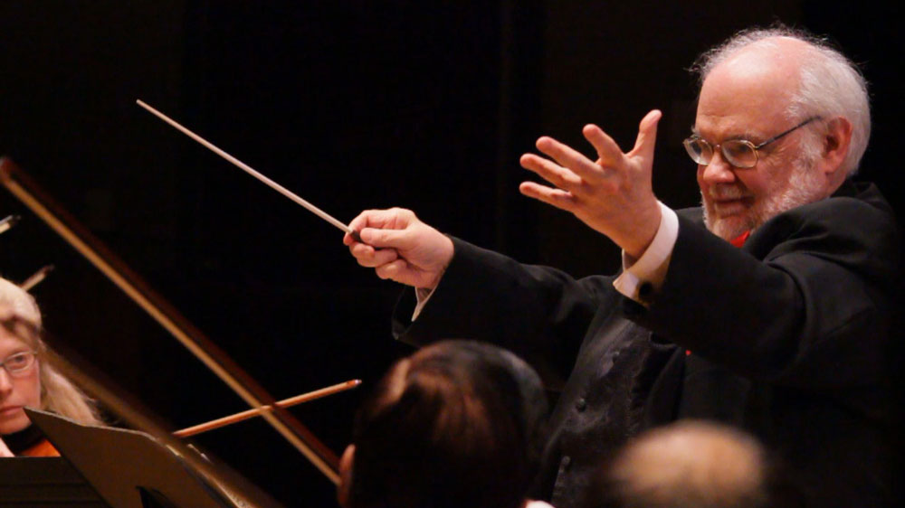 Maestro Robert Butts, Conductor of the Baroque Orchesta of New Jersey