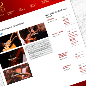 The Baroque Orchestra of New Jersey's Video Page