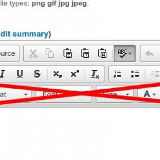 Stop using your formatting toolbar